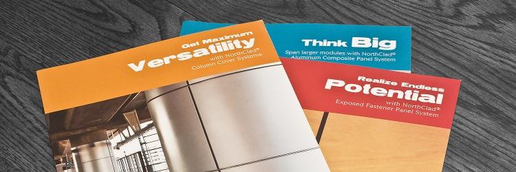 Northclad Branding Brochures Wide